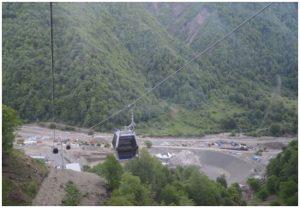 Cableways in Gabala