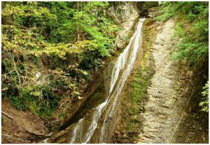 Yeddi Gozel (Seven beauties) waterfalls in Gabala