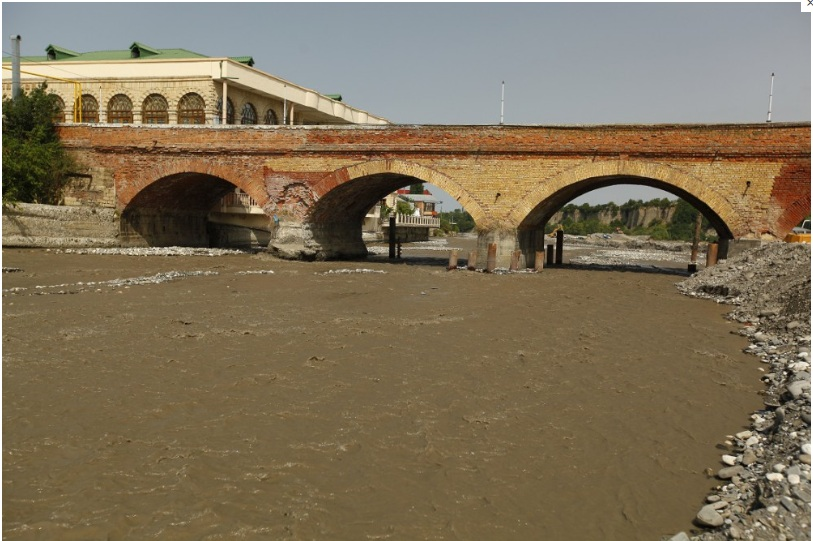 The Arched Bridge in Quba